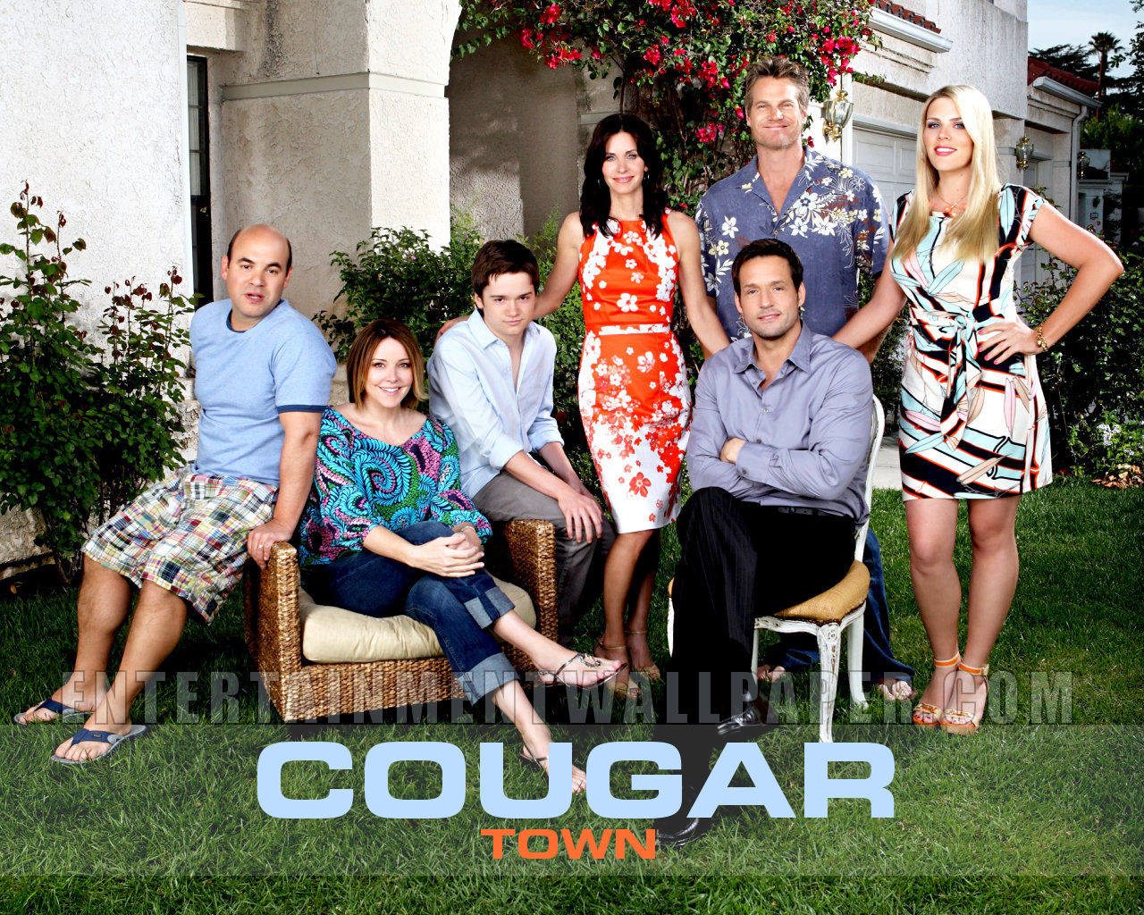 Cougar Town powstaje