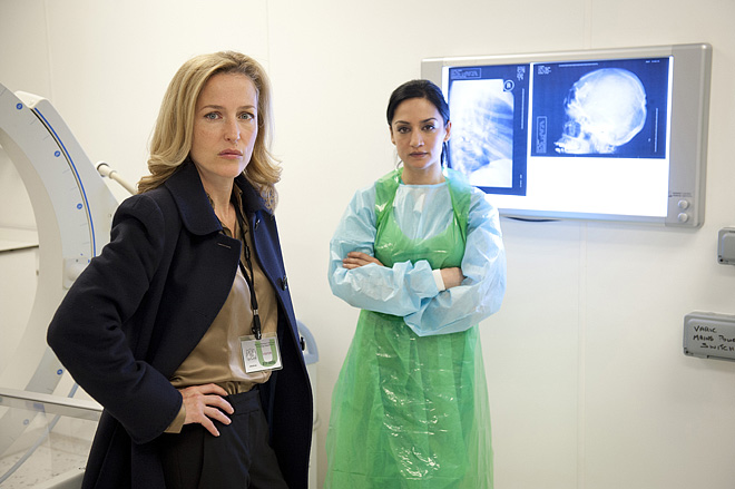 Scully, Kalinda i Roose Bolton w jednym serialu