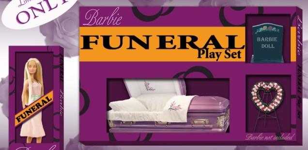 Barbie cmentarna księżniczka
